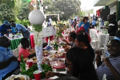 A screening at the Achimota Golf Course