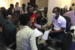 Group-discussions-at-the-HIVST-training-2