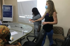 Gruo-Sorenson-demonstrating-to-the-participants-about-the-HIVST
